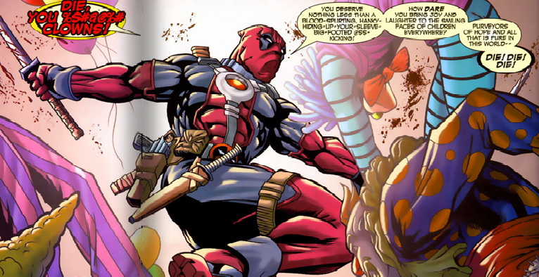 die clowns hilarious Deadpool