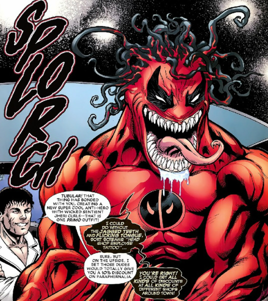 what if Venom possessed Deadpool