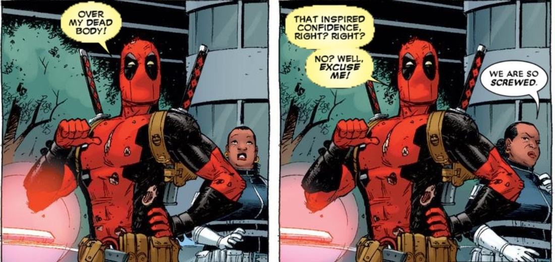 Deadpool confidence