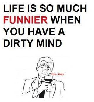 dirty mind joke