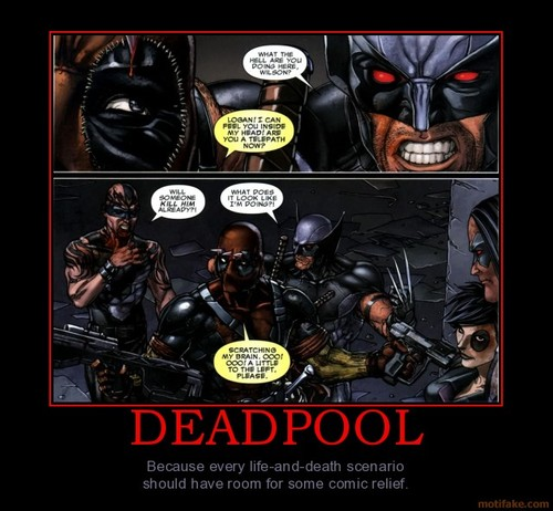 Deadpool brain itch