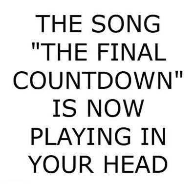 funny picture final countdown